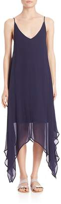 SET Women's Sheer Hi-Low Shift Dress