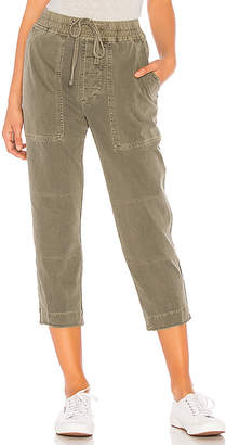 James Perse Crop Knit Cargo Pant