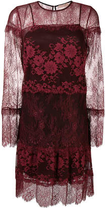 Twin-Set embroidered lace dress