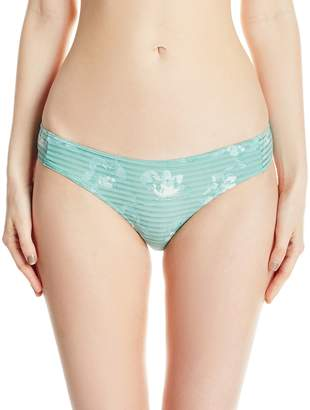 RVCA Women's in Bloom Medium Bikini Bottom