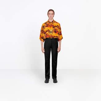 Balenciaga Cotton chino regular pants