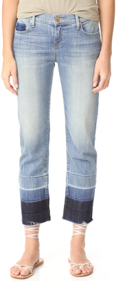 True Religion Mid Rise Relaxed Straight Jeans $229 thestylecure.com