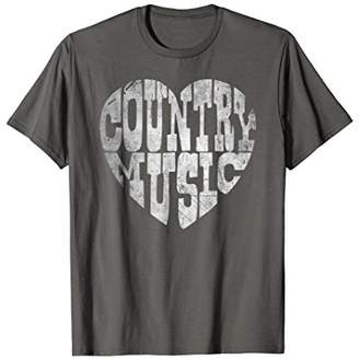 I Love Country Music Lovers T Shirt
