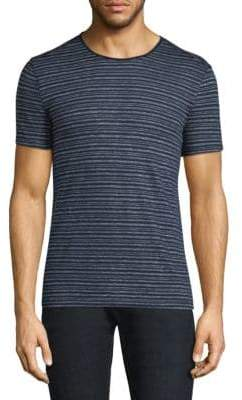 John Varvatos Stripe Crewneck T-Shirt