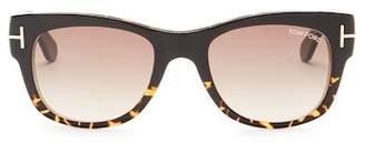 Tom Ford Cary 52mm Rectangular Sunglasses