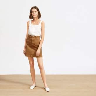 d6a8da6d1 Everlane The Patch Pocket Skirt
