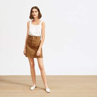 Everlane The Patch Pocket Skirt