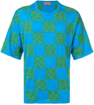 Missoni contrast check T-shirt