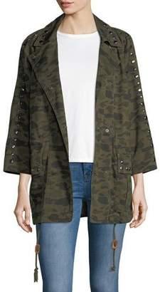 Rebecca Minkoff Monarda Camouflage Utility Coat