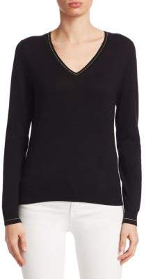 Saks Fifth Avenue COLLECTION Classic V-Neck Pullover