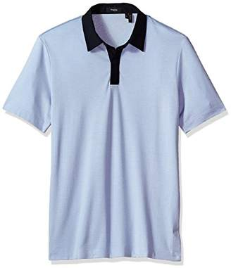 Theory Men's Covered Plaquet Dressy Polo