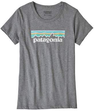 Patagonia Girls' Pastel P-6 Logo Organic Cotton T-Shirt