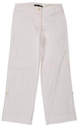 Theory Mid-Rise Wide Leg Pants