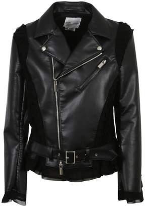 Comme des Garcons Noir Kei Belt Buckle Rider Jacket