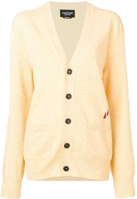 Calvin Klein V-neck button cardigan