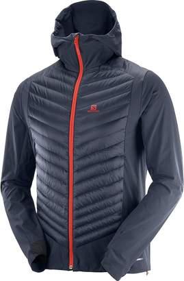 Salomon Haloes Down Hybrid Hooded Jacket - Men's