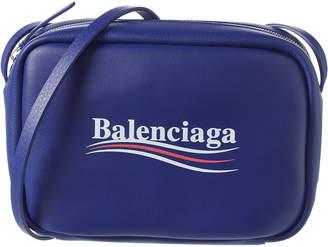 Balenciaga Everyday Campaign Small Leather Camera Bag