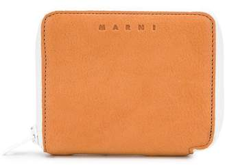 Marni zip around coin purse