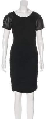Elizabeth and James Knee-Length Short Sleeve Dress