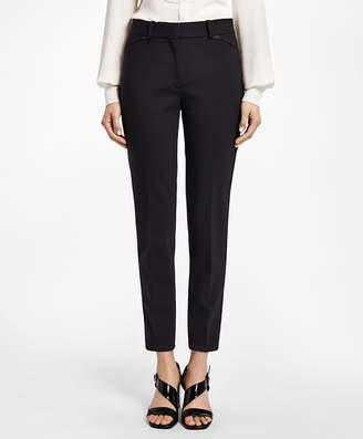 Brooks Brothers Slim-Fit Stretch Wool Tuxedo Pants