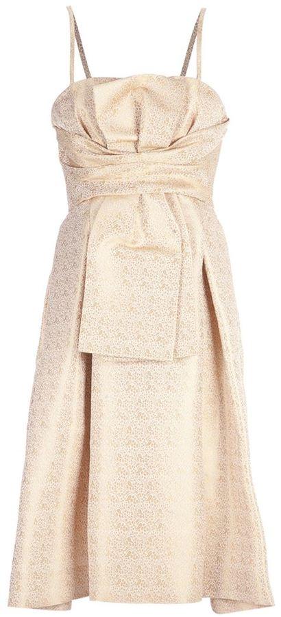 Christian Dior Ribbon dress