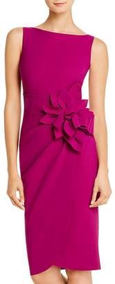 Chiara Boni Glenaly Flower-Appliqué Dress - 100% Exclusive