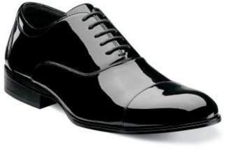 Stacy Adams Mens Gala Cap Toe Oxford Leather Tuxedo Dress Shoes