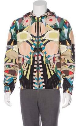 Givenchy 2017 Allover Cleopatra Bomber Jacket
