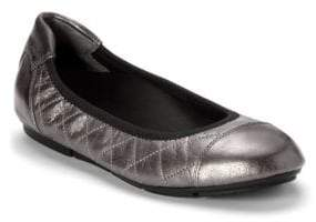 Vionic Ava Leather Ballet Flats