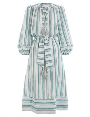 Zimmermann Kali Stripe Dress