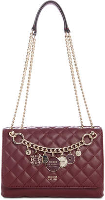 GUESS Victoria Chain Shoulder Bag