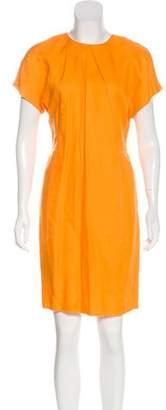 Acne Studios Short Sleeve Mini Dress