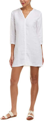 Michael Stars Frayed Linen Shift Dress