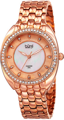 Burgi Women's Alloy Watch