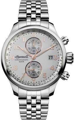 Ingersoll WATCHES Delta Chronograph Bracelet Watch, 47mm