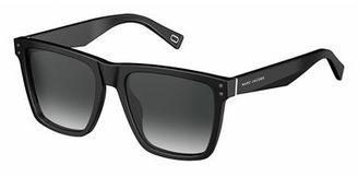 Marc Jacobs Gradient Square Flat-Top Sunglasses $140 thestylecure.com