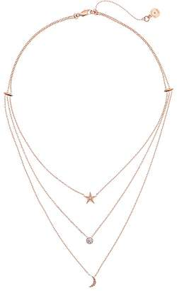 Michael Kors Brilliant Celestial Layered Chain Necklace Necklace