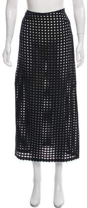 Clements Ribeiro Cutout Midi Skirt