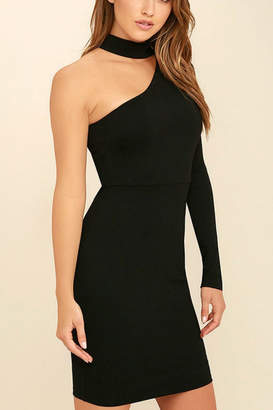 Factory Unknown One Shoulder Dress