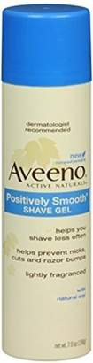 Aveeno Positively Smooth Shave Gel 7 oz by