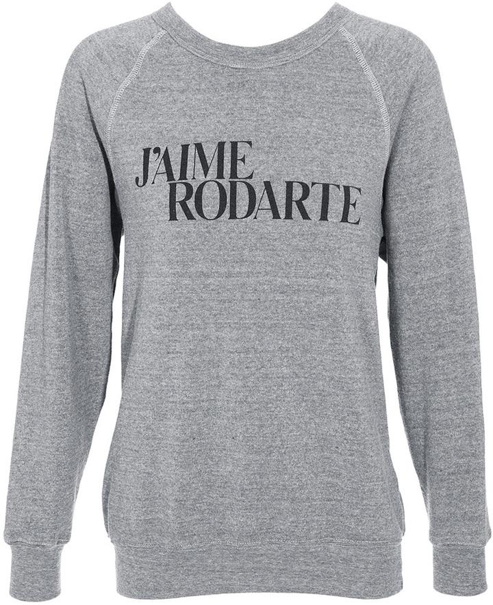 Rodarte 'Love Hate' sweatshirt