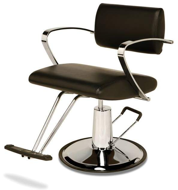Veeco AR2109BB Veneto Styling Chair with Round Base