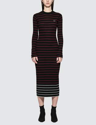 McQ Sw Striped Dress