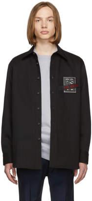 Raf Simons Black Denim Carry Over Shirt