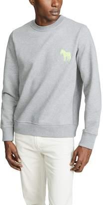 Paul Smith Embroidered Zebra Sweatshirt