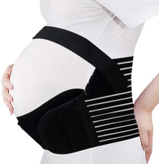 Unique Bargains Maternity Antepartum Belt Pregnancy Support Waist Belly Band Back Brace