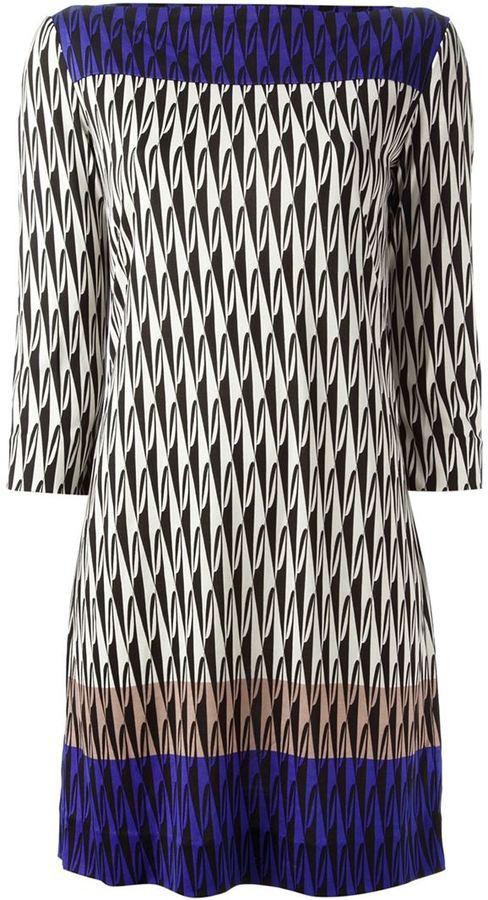 Diane von Furstenberg 'Ruri' printed dress