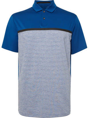 b683b3d5 Nike Tiger Woods Vapor Striped Dri-Fit Polo Shirt