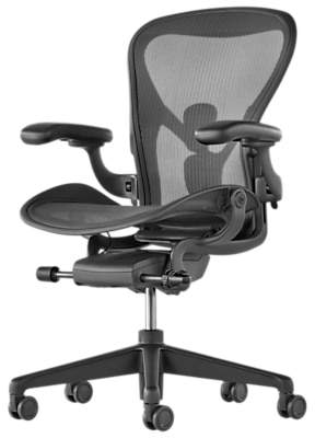 Herman Miller New Aeron Office Chair, Graphite