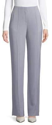 Diane von Furstenberg Straight-Fit Pleated Trousers